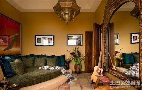 东南亚室内装修风格 客厅图片 土巴兔装修效果图