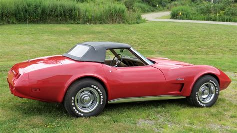 1975 l82 corvette convertible 4 speed matching numbers 3rd owner ac no reserve 1975 chevrolet corvette numbers matching l48 4speed
