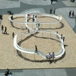 Benches Modern Loop Bench By Jeppe Hein Activates The Urban Landscape By