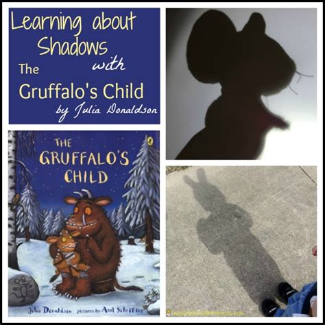 the child a novel books learning about shadows with the gruffalo s child