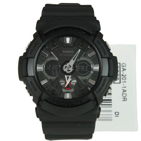 Casio G Shock Ga 201ba casio g shock black analog digital ga 201 1a ga201