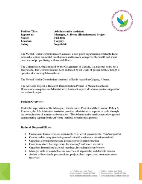 administrative assistant sample resume resumewriting com