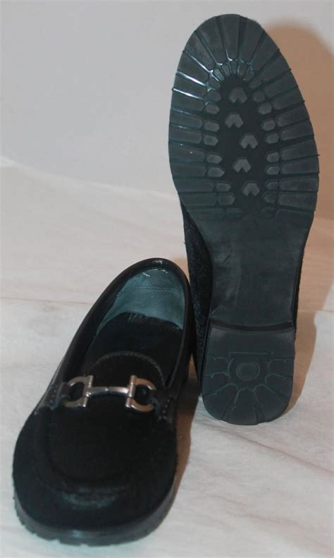 pony hair loafers salvatore ferragamo black pony hair loafers w silver