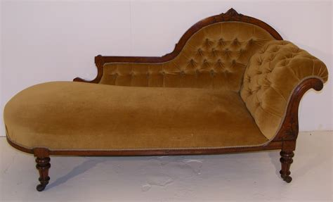 victorian chaise a victorian walnut framed chaise longue long melford