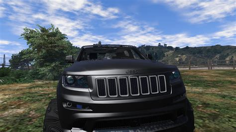 jeep grand cherokee srt modified 2013 jeep grand cherokee srt 8 series iv gta5 mods com