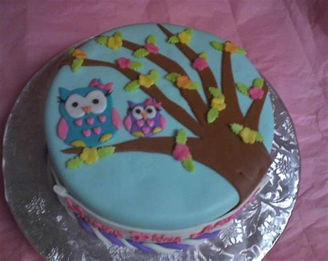 owl cake yummy snacks and party ideas pinterest