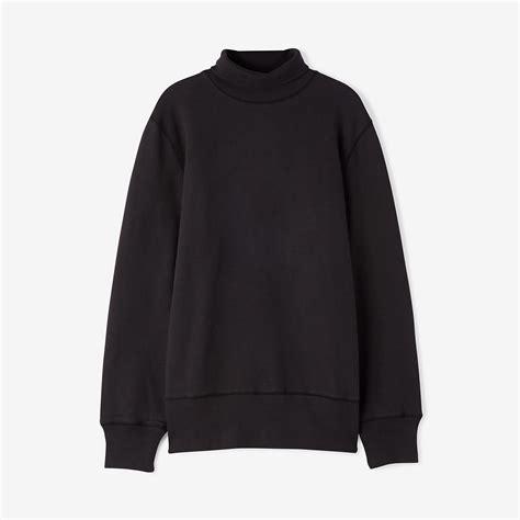Turtleneck Sweatshirt our legacy turtleneck sweatshirt in black for lyst
