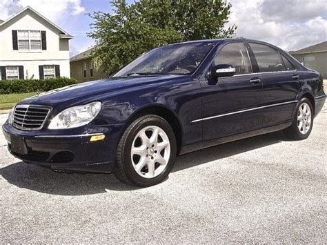 2003 Mercedes S430 by Buy Used 2003 Mercedes S430 Nav A C Heated Sts Bose 6 Cd