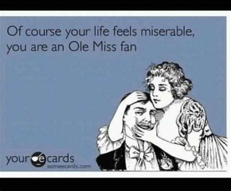 ole miss fan sad ole miss fan all things maroon and white