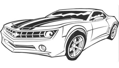 bumblebee car coloring page bumble bee car colouring pages