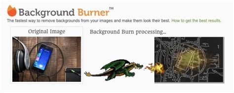 Background Burner | background burner a web app that cuts out subjects in photos