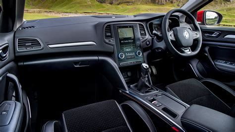 renault interior renault megane dci 110 2017 review by car magazine