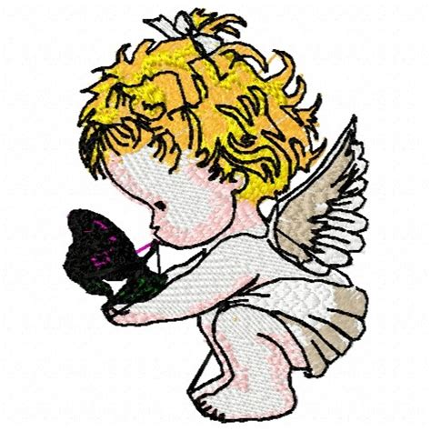 free embroidery design angel free baby angel butterfly embroidery design annthegran