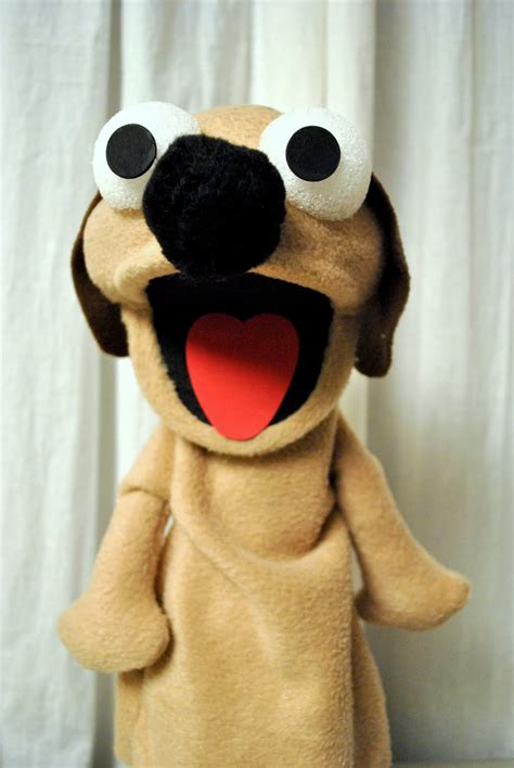 puppy puppet attack of the craft puppet tutorial