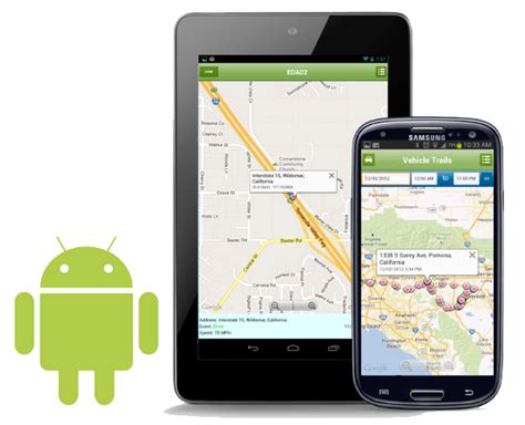 gps phone tracker android fleet tracking app for android manage your trucks on mobile