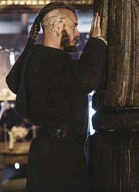 tattoo on side of ragnars head on vikings good picture of ragnar with his head tattoo medieval