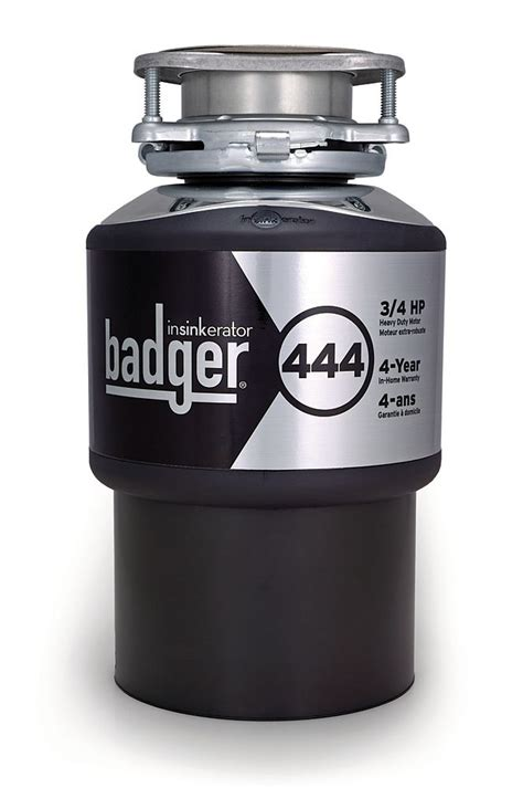Home Depot Garbage Disposal by Insinkerator Badger 444 Food Waste Disposer The Home Depot Canada