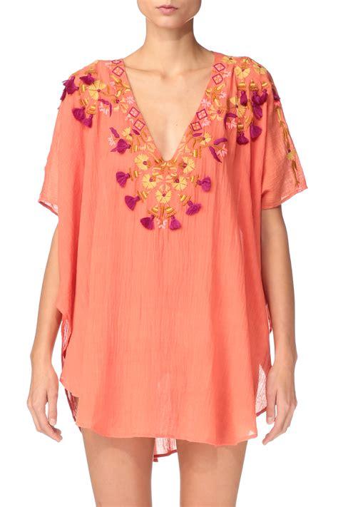 Batiqa Tunik antik batik tunic dress dove1kaf in lyst