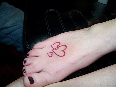 heart tattoo on foot 57 fabulous tattoos on foot
