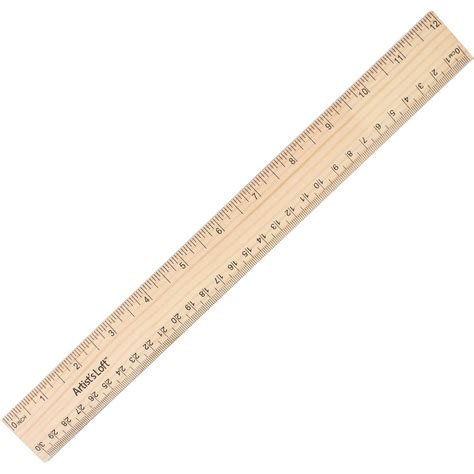 woodworking rulers artist s loft wood ruler 12 inches hobbycraft