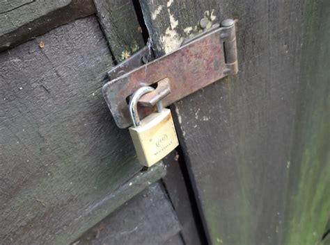 Shed Lock by Security Locks For Sheds Security Guards Companies