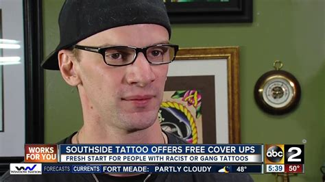 free gang related tattoo removal local shop offers free removal of