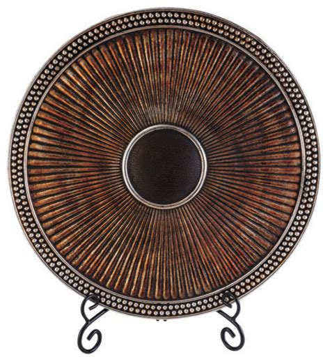davina charger plate with stand traditional decorative