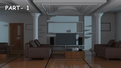 3ds Max Models Free Interior by Interior Modeling 3ds Max Tutorial 2015