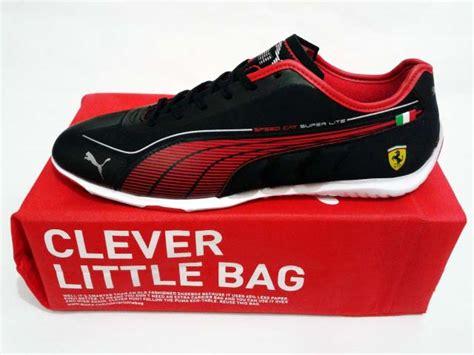 Sepatu Badminton Fila sepatu speed cat superlite low scuderia black
