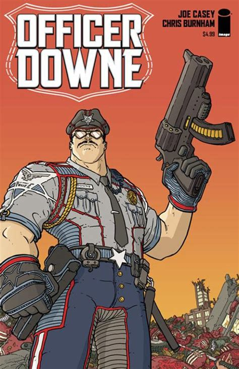 Officer Downe by Coates To In Image Comics Adaptation Officer
