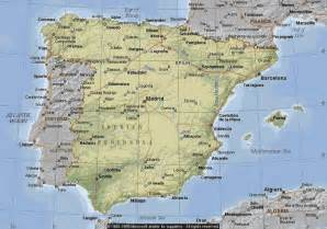 Map If Spain by Maps Of Spain