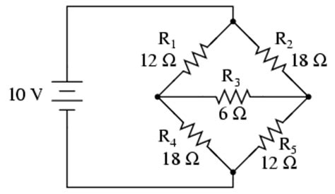 resistor bridge circuit analysis δ y and y δ conversions electronics forums
