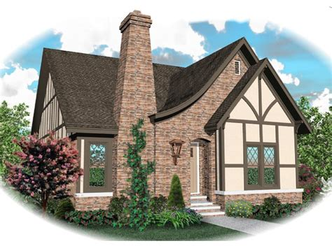 Tudor Cottage by Apollo Hill Tudor Cottage Home Plan 087d 0699 House