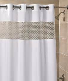 Bathroom renovation with hookless shower curtain drapery