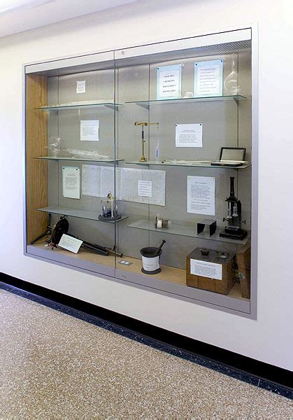 Built In Glass Display Cabinets by News Helmut Guenschel Inc Museum Quality