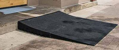 disable mat step rubber wheelchair r threshold rs rubber express