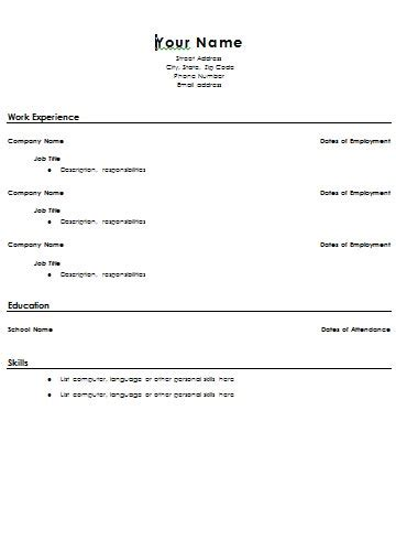 resume of high school student example of high school student resume