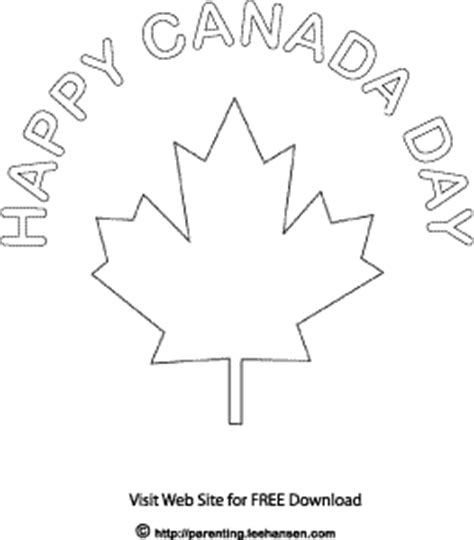 printable coloring pages canada day canada day colouring sheet page