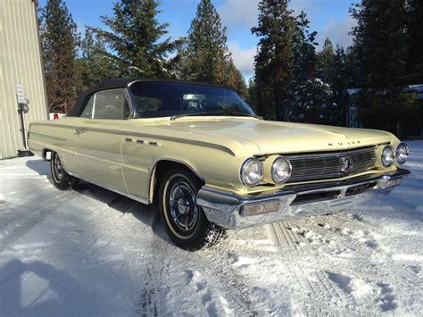 1962 buick wildcat convertible power top butternut yellow