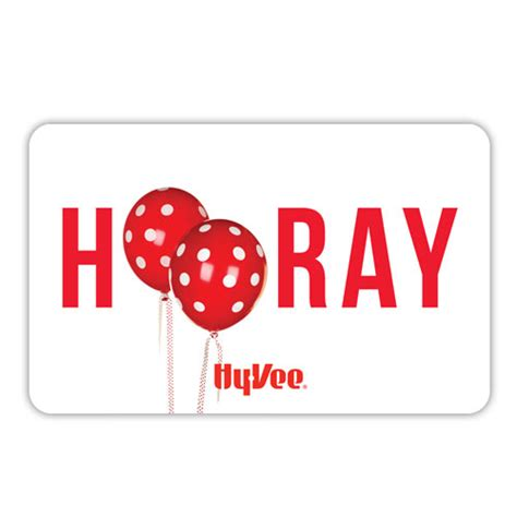 Hyvee Gift Card - shop gifts hy vee gift cards hy vee gift card hooray 25606