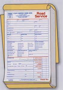 Towing Company Receipt Template Pics Photos Blank Towing Receipt
