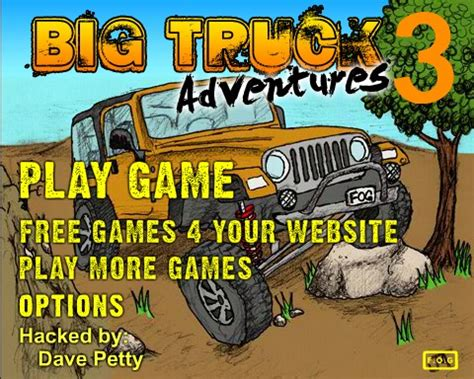 trucks nitro 2 hacked big truck adventures 3 hacked cheats hacked free