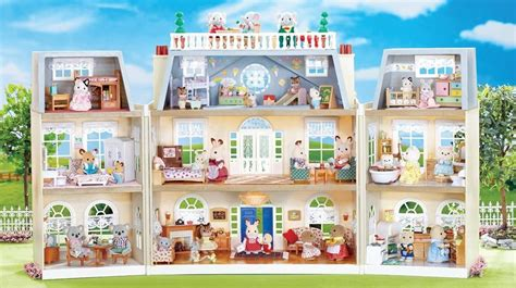calico critters doll house calico critters of cloverleaf corners our ultimate guide