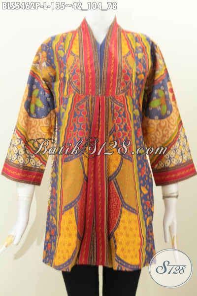 Gamis Bati baju blus bati keren dan modern pakaian batik halus