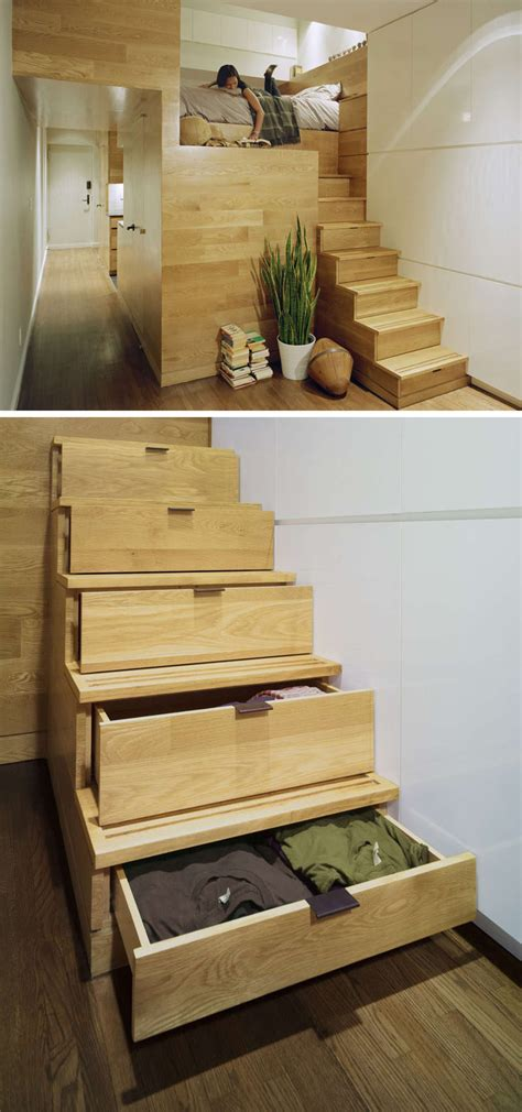 stairs with storage 13 stair design ideas for small spaces contemporist