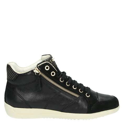 Geox Sneakers geox myria hoge sneakers zwart