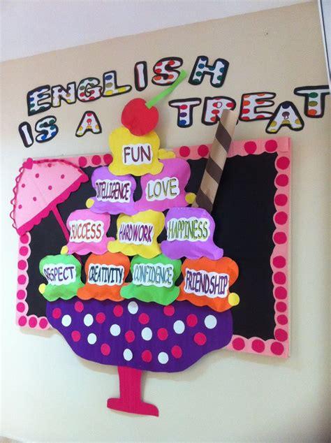 themes for english summer c ice cream bullettin board school is cool pinterest