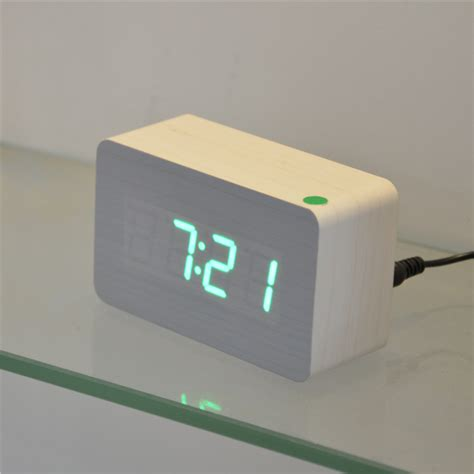 bedroom clock home decor table clocks red led digital clock bedroom