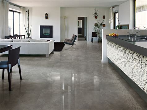 Flooring For Living Room And Kitchen by Decorative Porcelain Tiles Royal Marble By Ceramica