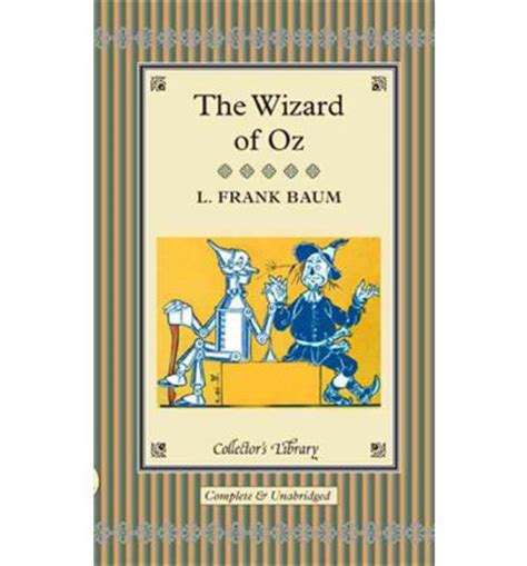 the wizard of oz l f baum 9781905716524